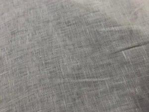 CAMBRAIA DE LINHO PURO OFF WHITHE. Conexao Tecidos